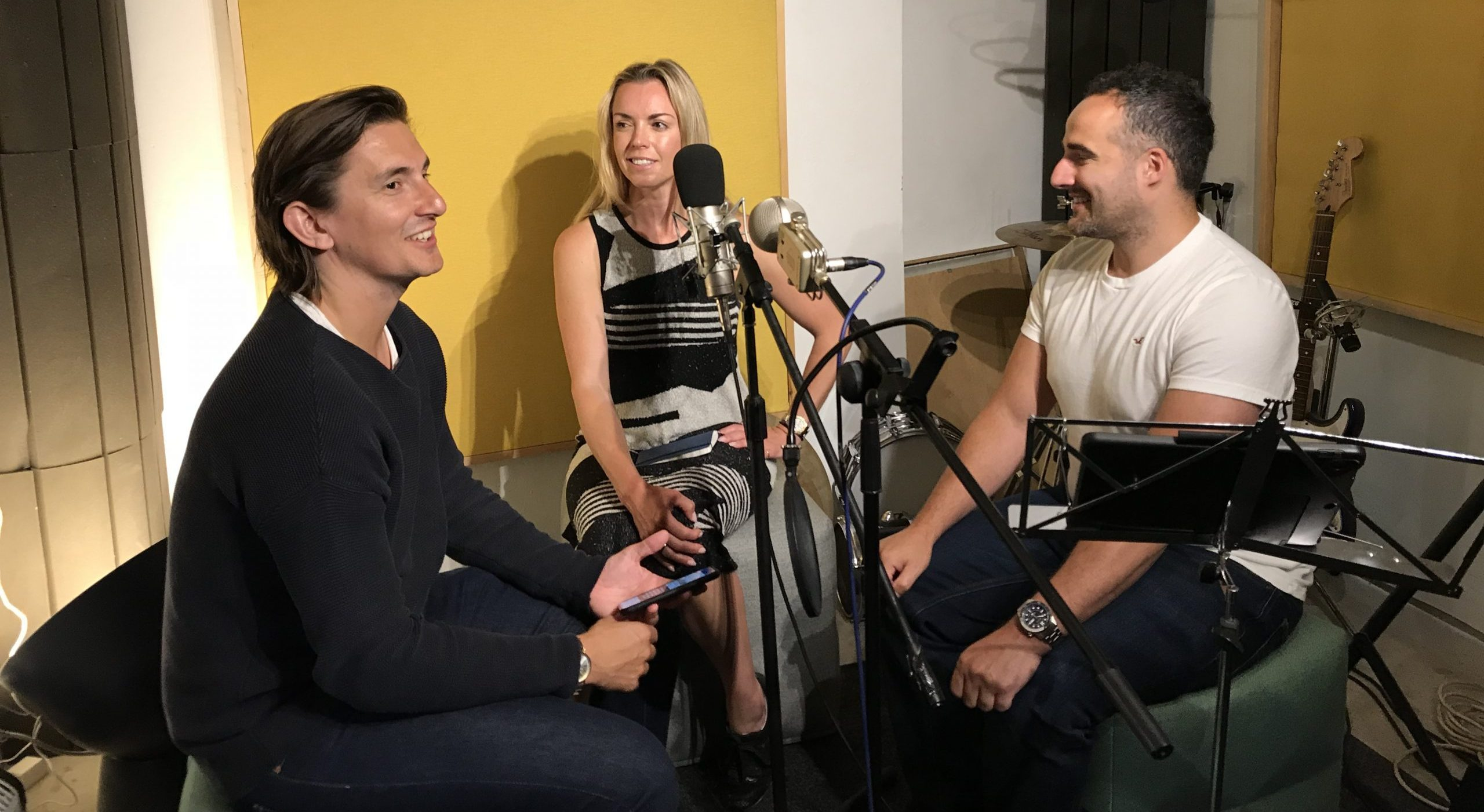 "EP41: Mo and Angelos – ""You have to have something to share, something you want to say."" – Your Success Podcast Part 1"