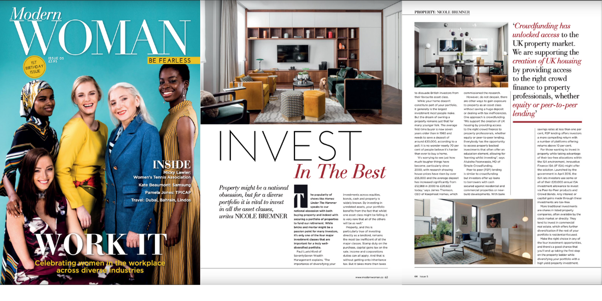 Invest in the best: Modern Woman magazine issue 5
