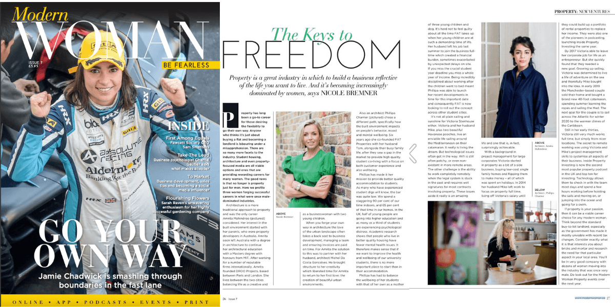 The keys to freedom: Modern Woman Magazine Issue 7